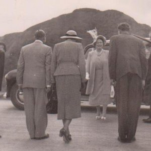 eagle school 1953 - the queen mothers visit 3