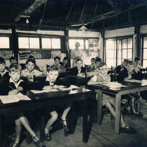 eagle school 1953 - the school 6